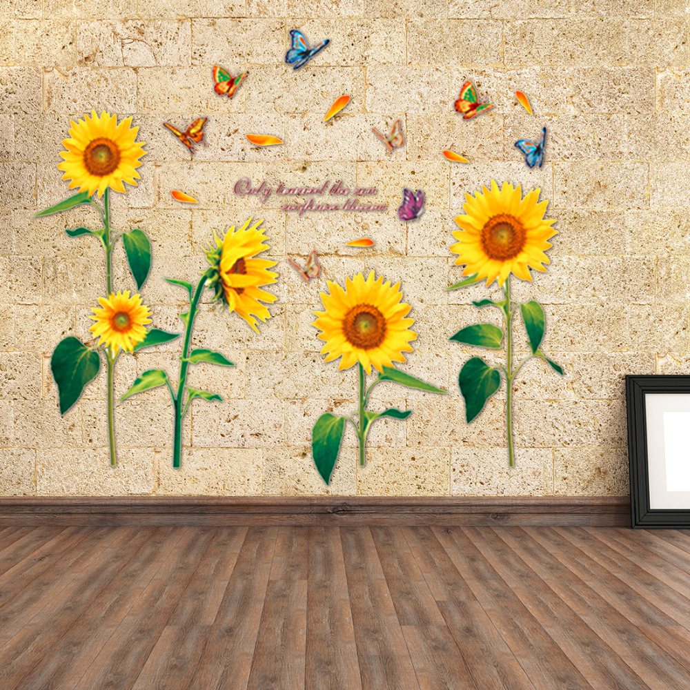 flower ideas botanical floral canvas decor wall funky art print sunflowers painting tulip sunflower vignette