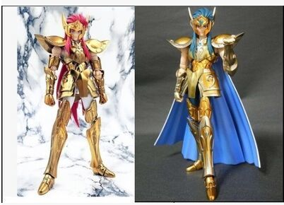 Club di metallo metalclub Aquarius Camus Saint Seiya action figure doll toy oro di Saint cloth myth ex modello regali фигурка героя мультфильма saint seiya metalclub galaxy ex kanon 15003