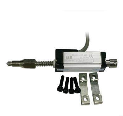 Machine de moulage par Injection règle électronique capteur de déplacement linéaire. Transducteur de déplacement linéaire à ressort KTR-15MM