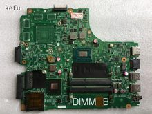 KEFU For dell inspiron 3421 5421 laptop motherboard with i3-2375U DDR3 5J8Y4 mainboard test good(China)