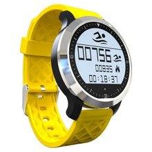Deporte de la natación impermeable Bluetooth Smartwatch F69 inteligentes pulsómetro relojes para Apple Android reloj pulsómetro
