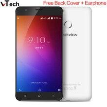 Оригинал Blackview E7 4 Г Смартфон 5.5 Дюймов Android 6.0 Quad Core 1 ГБ MT6737 RAM 16 Г ROM Мобильный Телефон MTK 1.3 ГГц 8.0MP 2700 мАч