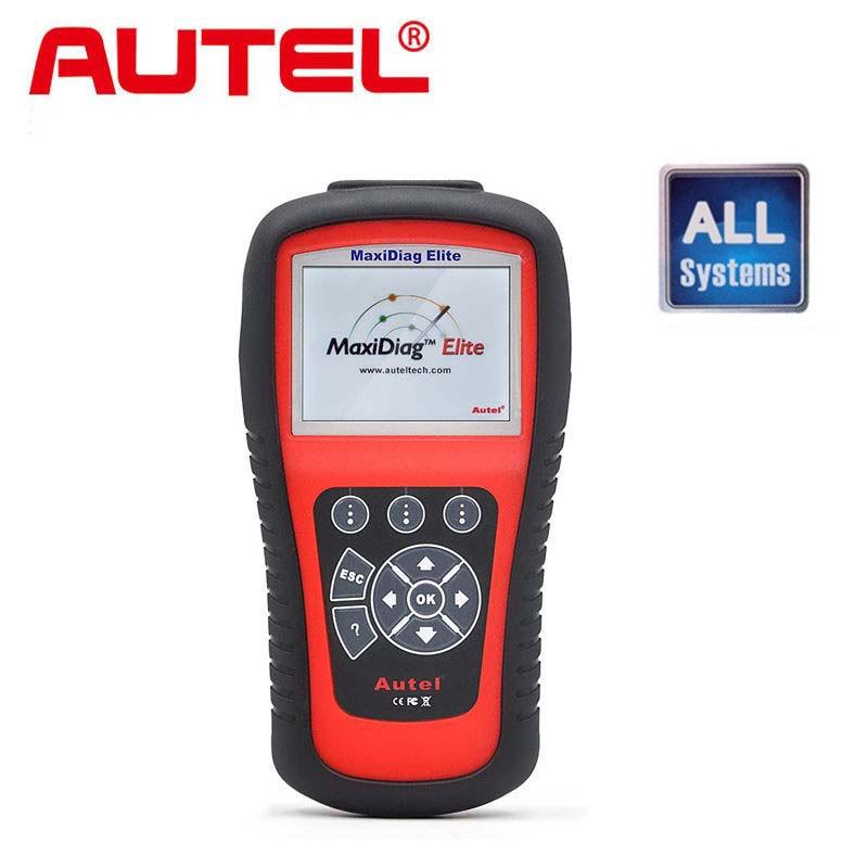 Цена за [Разрешение Дистрибьютор] Autel Maxidiag Elite MD802 Все система + DS Модель Полный Система DS + EPB + МНК + Data Stream DHL бесплатная доставка
