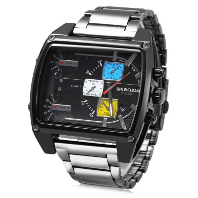 Design Watch For Men 3-movt Quartz With Date Function 1