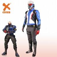 Xcoser OVERWATCH Soldier 76 Cosplay Prop Cosplay Costume Shoulder Holster&Cartridge Belt&Gun Holster Glove Halloween Party Prop
