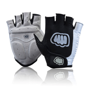 цена на Brand Man Cycling Gloves Half Finger Gel Road Bike Glove Black Red Yellow Summer Sport Guantes Airsoft Parkour Gloves M L XL