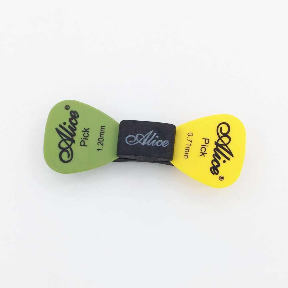 1 шт. Алиса резиновый держатель для медиаторов для акустической для классической электрогитары/бас/струнные Музыкальные инструменты