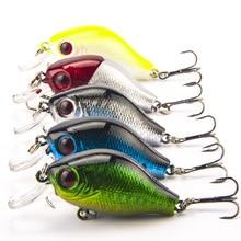 9G 5 5CM Isca de peixe Bass Fishing Lures Crank Bait Tackle font b Swim b