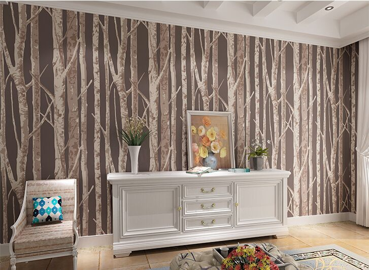 forest tree trunk Wallpaper 3D Eco-friendly Non woven Wallpaper Living Room Sofa Background Waterproof wallpaper сумка для фотоаппарата hugger tree trunk dark grey