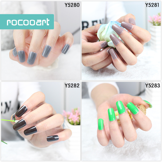 Free Shipping New 2019 Hot 13 Single Pure Color Series Classic Collection Manicure Nail Polish Strips Nail Wraps,Full Nail Sheet 1