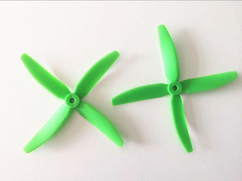 1 Pair 2 PCS 4-Propeller Props CW/CCW For Racing FPV QAV R QAV 210 250 280 320 Martian 230 255 Quadcopter F18761/4