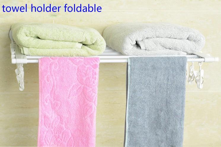 Multifunction fixado na parede suporte de toalha