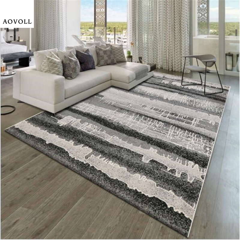 Living Room Decorating Design Carpet Or Rug For Living: AOVOLL Abstract Style Creative Design Carpets For Living