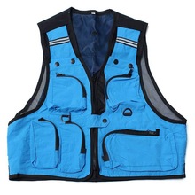 Ultralight Fishing Vest With Pockets Outdoor Sports Quick-Drying Mesh Multifunction Wear Accessory