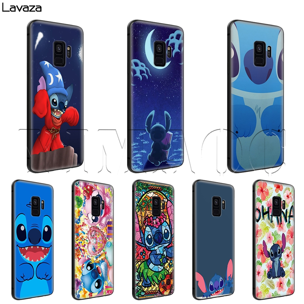 Sincere Cute Cartoon Stich Coque Shell Soft Silicone Tpu Phone Case For Samsung Galaxy S6 S7 Edge S8 S9 Plus Note 9 Note 8 Phone Bags & Cases