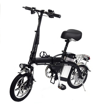 14 inch electric bicycle Max 35KM/H aluminum alloy material Mileage 35KM hours 350w high-speed motor electric bike adult