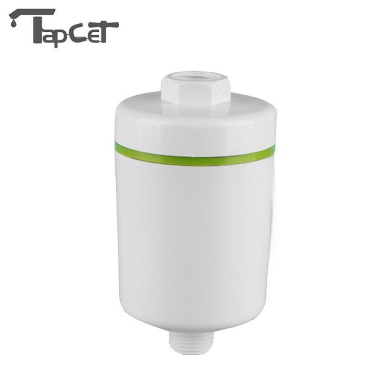 Household Bath Shower Water Filters Front Reverse Washing Pre-filter Purifier Descaling Device Bathroom Remove Chlorine Rust