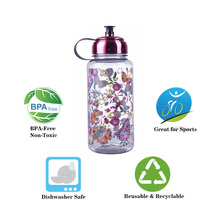 Flower Sports Water Bottles 1000 ml