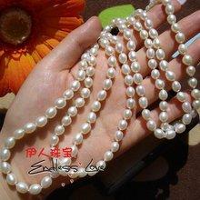 0,2 за сантиметр длина ожерелья из пресноводного жемчуга, 60 см/90 см/120 см/150 см/и т. Д