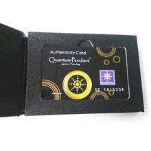 Высокое качество круглый золотой анти-Радиационная наклейка против EMF скалярной отрицательные ионы щит Прямая