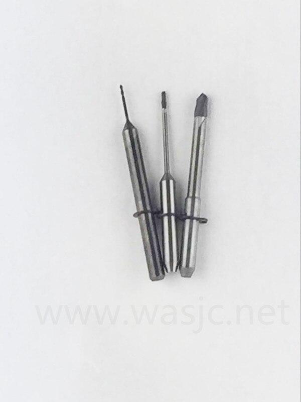 Weiland CAD/CAM Burs Length=35mm Shank 3 Mm Dental Milling Cutters Zirconia/pmma/wax Block End Mills