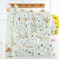100 Cotton Fashion Baby Newborn Baby Set Summer And Winter Underwear Set Small Tree O Neck