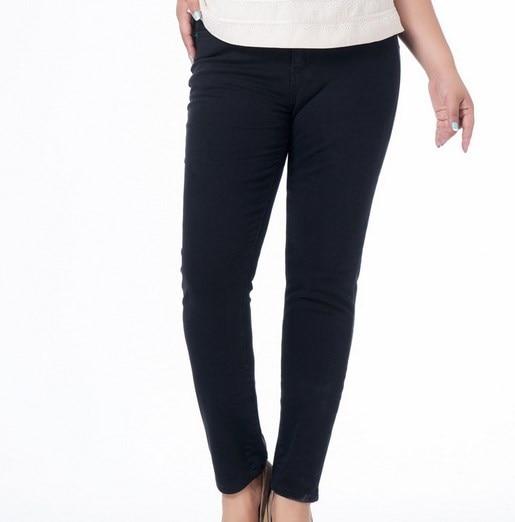 Size 30 38 Plus Size Stretch Black font b Jeans b font font b Women b
