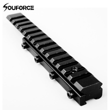 2017 New 11mm to 20mm Converter Rail Base Mount For Scope laser Sight for Hunting Scope Accessory