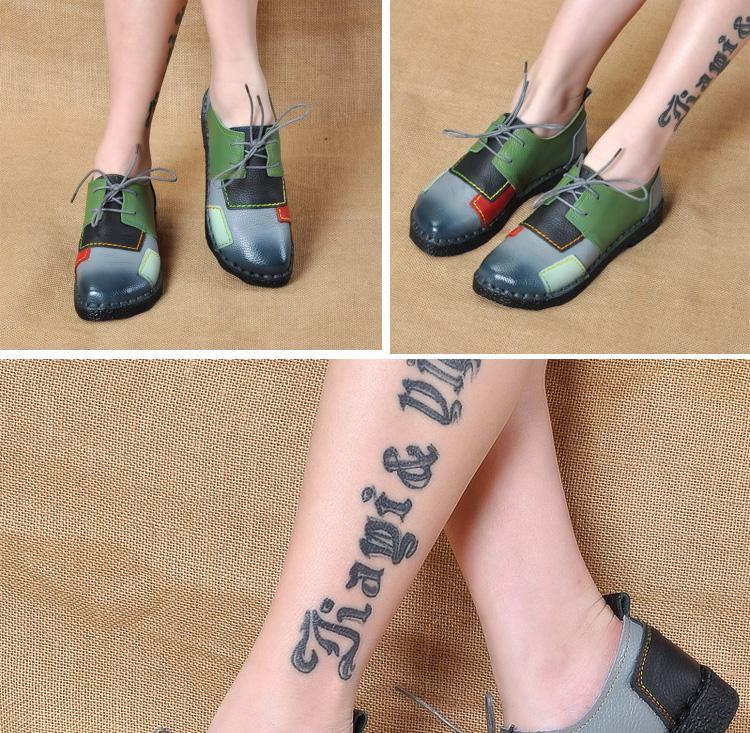 HTB1xYJfRFXXXXXkXXXXq6xXFXXXY - Women's Handmade Genuine Leather Flat Lace Shoes-Women's Handmade Genuine Leather Flat Lace Shoes