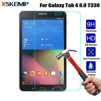Закаленное стекло для Samsung Galaxy Tab 4 8,0 T330 T331 T335 прозрачная защитная пленка без отпечатков пальцев для планшета HD