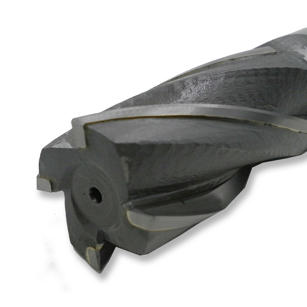 MZG SWE4 25mm 32mm HRC50 Cutting 4 edge spiral groove type tungsten steel Slab Milling cutters blade welding F End Mills