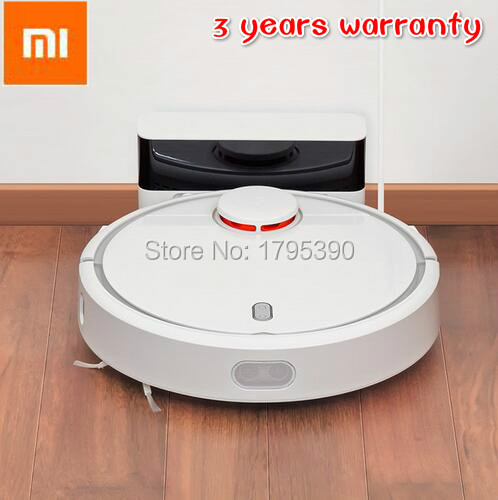 3year warranty! Original Xiaomi robot vacuum cleaner Household Smart Automatic Efficientr APP Control( free tax for EU/RUSSIAN)