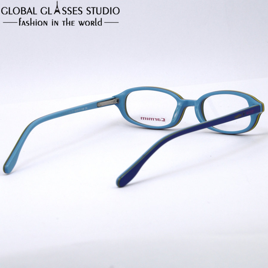 High quanlity Kids/Children Acetate frame Blue and Yellow Patchwork ...