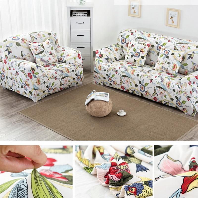 1 Set flower Design flexible Stretch Sofa cover Big Elasticity Couch cover Loveseat sofa Funiture Sofa