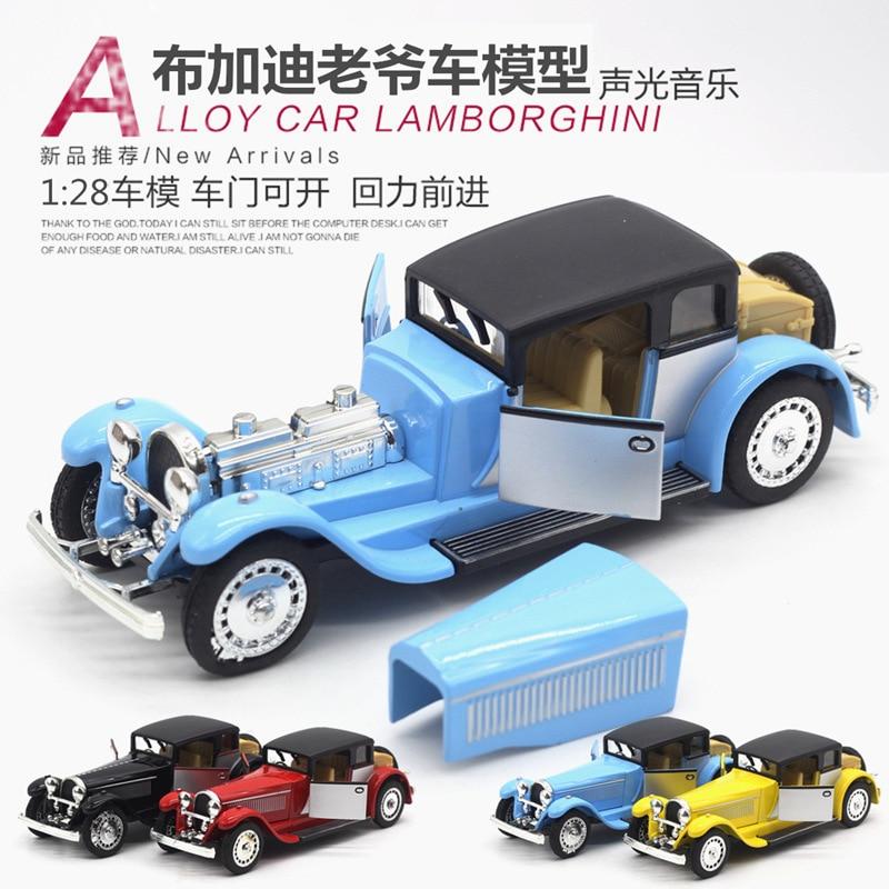 1:28 modelo de simulación de coche, modelo de coche de aleación. - Vehículos de juguete para niños - foto 3
