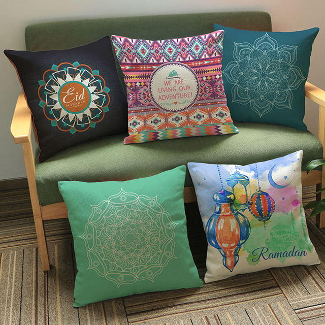Simple Small House Eid Al-Fitr Decorations - Ramadan-Decorations-Cushions-Home-Decor-Islamic-Meditation-Yoga-Cushion-Cover-Eid-Al-Firt-Home-Decorative-Pillow  Trends_492375 .jpg