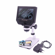 1-600x 3.6MP 8 LED VGA Digital Microscope USB Portable Electron for Pcb Motherboard Repair with 4.3 HD OLED Screen