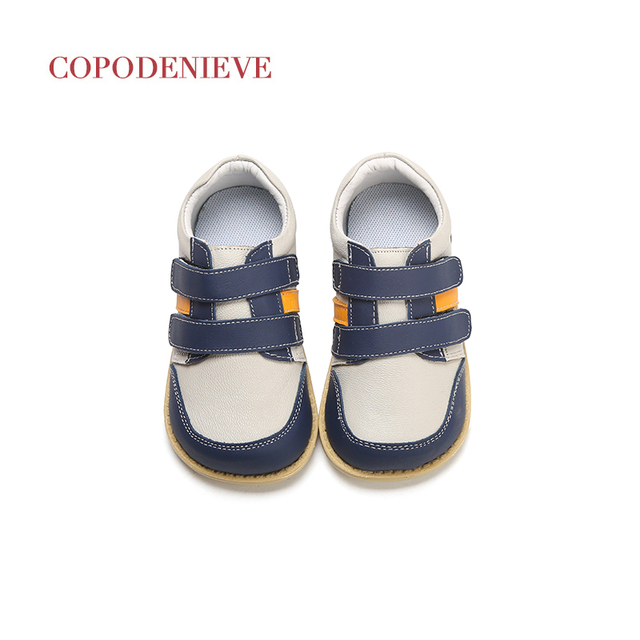COPODENIEVE  Boys Shoes Spring Autumn Pu Leather Toddler Kids Loafers Moccasins Solid Anti-slip Children's Shoes for Boys