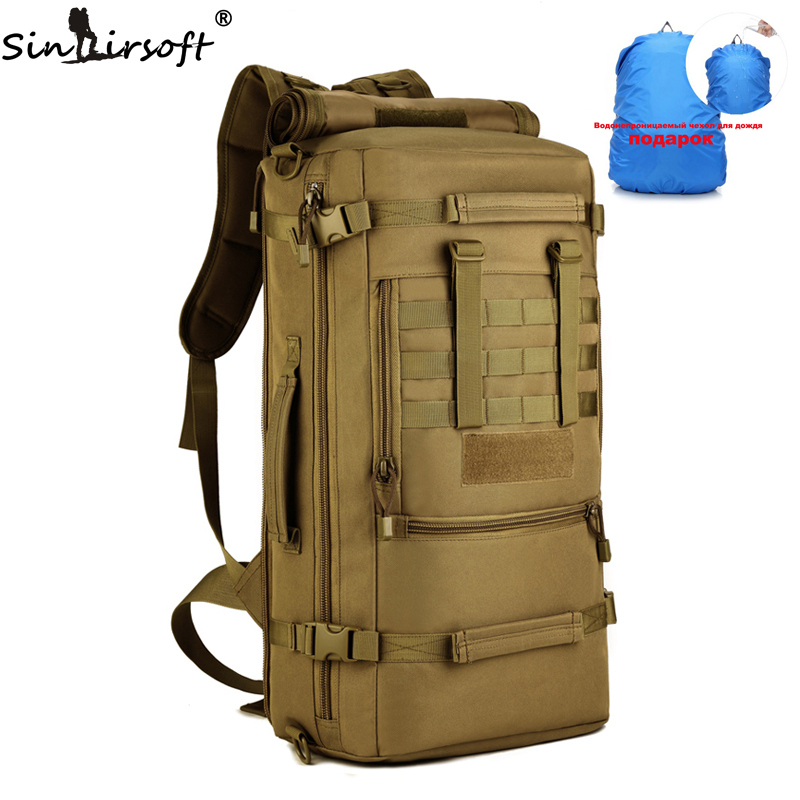 Gift 2017 New Military font b Tactical b font Backpack Camping Bags Mountaineering bag Men s