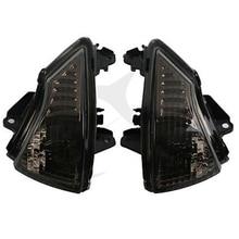 Motorcycle Lens Turn Indicator Signal Winker For Kawasaki ER6N ER6F ER6R 2009-2011 Accessories black