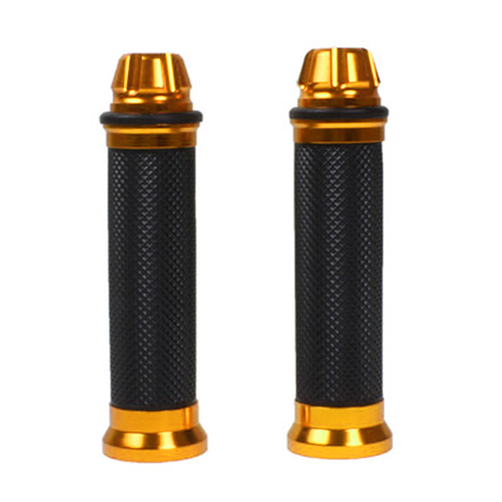 2Pcs/set 22mm Universal Motorcycle Sports Bike Rubber  Hand Grip Cover 5-Colors  Covers