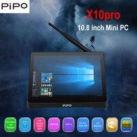 Pipo X10 PRO мини ПК Intel Cherry Trail Z8350 4 ГБ Оперативная память + 32 ГБ Встроенная память Mini PC Поддержка WINS10 2.4g WiFi 100 Мбит/с BT4.0 Smart Media Player