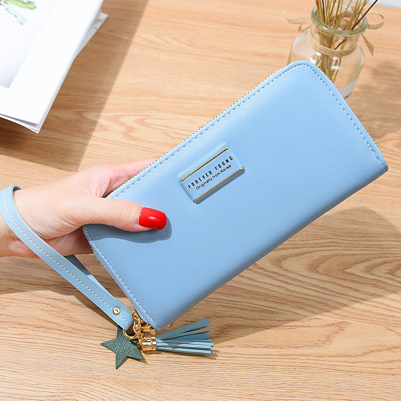 Tassels Zipper Women Wallets Lady Purses Handbags Coin Purse Cards ID Holder Long Woman Wristlet Wallet Money Bags Pocket Pouch cossroll brand women wallets genuine leather long thin purse clutches bags cards holder zipper phone pocket lady party wallet