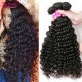 Malaysian Virgin Hair Deep Wave 4 Bundles Human Hair Deep Curly Virgin Hair Deep Wave Malaysian Hair Cheap Malaysian Deep Wave