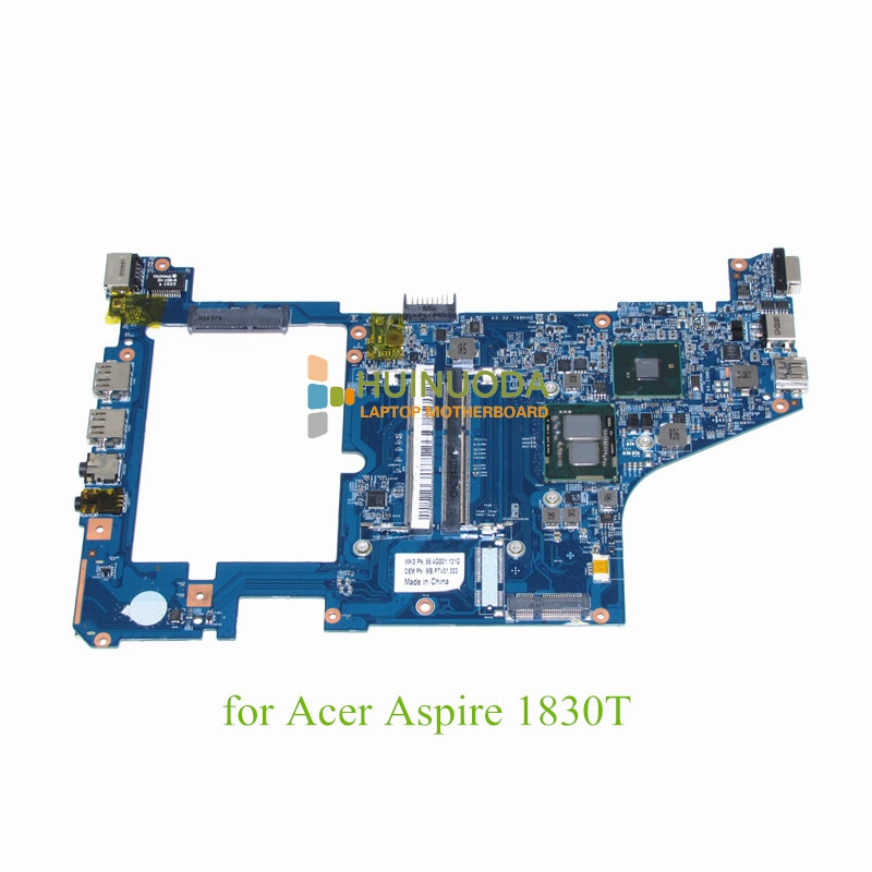 NOKOTION MBPTV01003 MB.PTV01.003 Main board For Acer aspire 1830T motherboard I5 430UM CPU Onboard DDR3