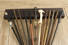 20pc Harri Potter New Top Quality Metal Core Dumbledor Hermione Magic Wand With Gift Box Cosplay Game Prop Collection Toy Stick