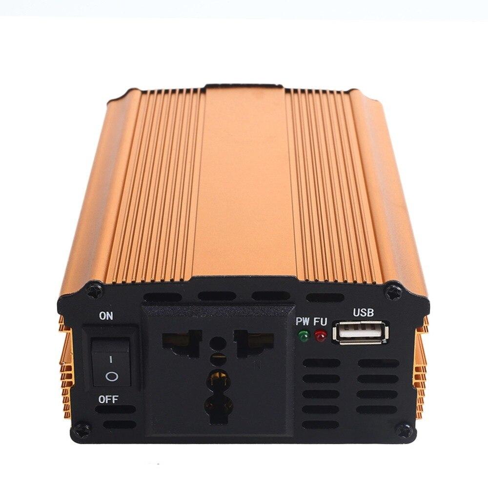 Car Inverter 3000W DC 12V to AC 220V Power Inverter Charger Converter Voltage Transformer Vehicle Modified Sine Wave Power