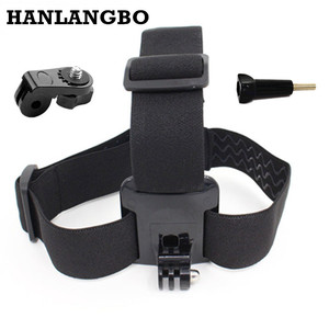 Head Strap Belt For Xiomi Yi 4K Sony Action Camera Headstrap Adapter Mount For Gopro Hero 5 4 Sjcam Sj4000 Go Pro Accessories