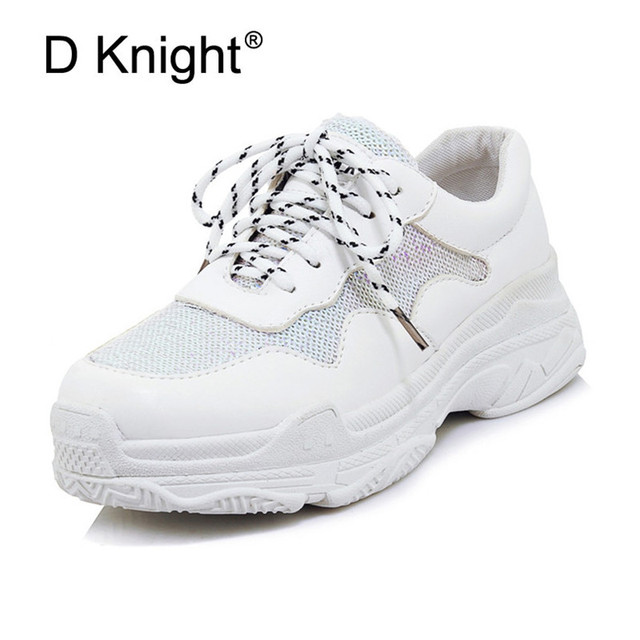 Women Sneakers 2019 New Fashion Women Casual Shoes Trends Ins Female
