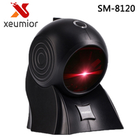 Freeship! Cost effective!! High Quality 24 Lines Laser Desktop Flatbed Barcode Scanner Bar code Reader with USB Interface